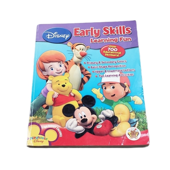 [Disney] Early Skills Learning Fun